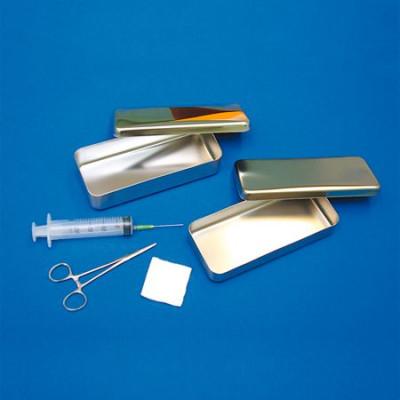 Boîte à instruments Inox 300X120X60mm
