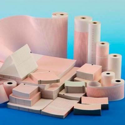 Papier Ecg 90X90mmx400F AT1 Schiller