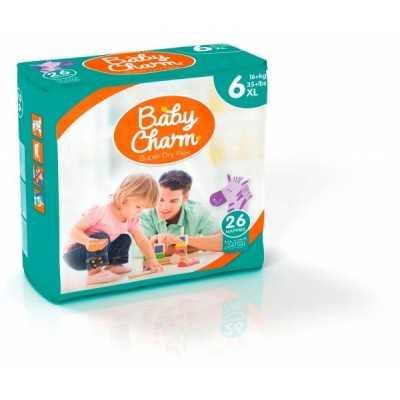 Baby Charm Super Dry Flex Taille XL 5 sachets de 26