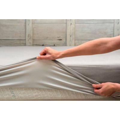 Drap Housse Select Blanc 90X200cm