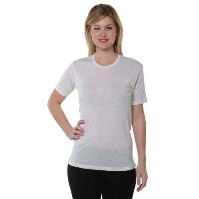 Tee Shirt Mixte Manche Courte Thermique Naturel Taille 2