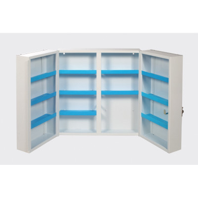 Armoire à pharmacie en métal - 53 x 19 x 53 cm