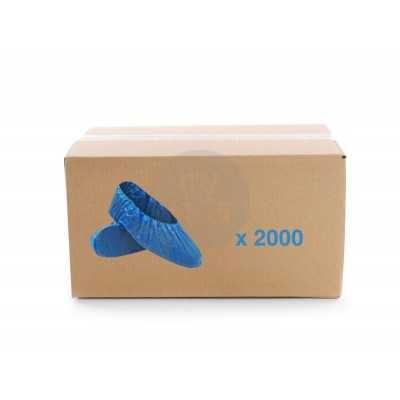Carton de 2000 surchaussures en pe