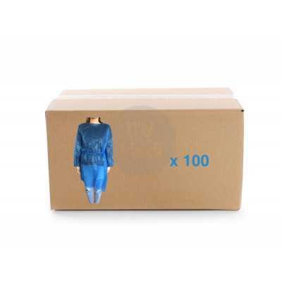 Carton de 100 surblouses jetables 35g