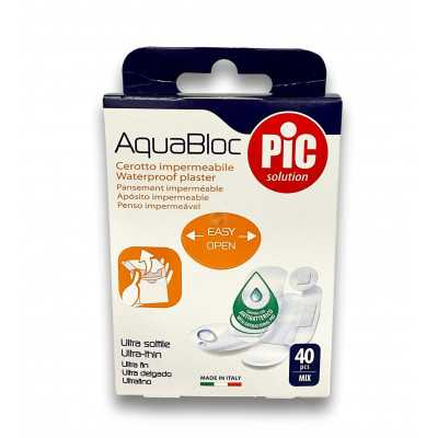 AQUABLOC ASSORTIS 40PCS