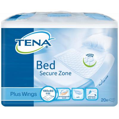 Alèse Jetable Tena Bed Plus Wings 80X180cm - Tena
