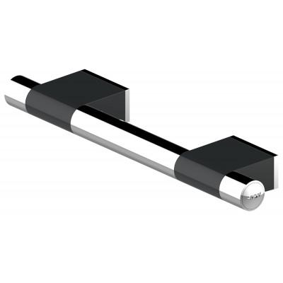 Barre d'Appui Droite - 60 cm - ONYX Duo Black - AKW