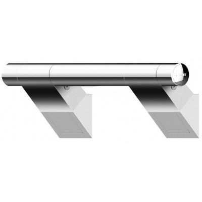 Barre d'Appui Inclinée 45° - 3 dimensions - ONYX Finition Chrome - AKW