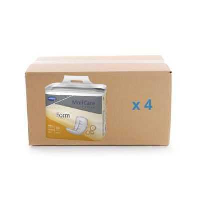 Protection anatomique Molicare Premium Form - 4 gouttes - carton 4x30U - Hartmann