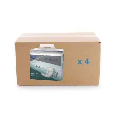 Protection anatomique Molicare Premium Form - 5 gouttes - carton 4x30U - Hartmann