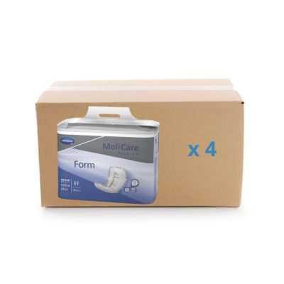 Protection anatomique Molicare Premium Form - 6 gouttes - carton 4x30U - Hartmann
