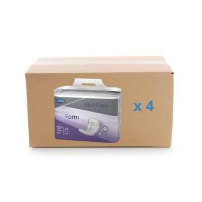 Protection anatomique Molicare Premium Form - 8 gouttes - carton 4x30U - Hartmann