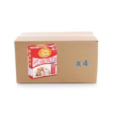 Couche Baby Charm Super Dry Pants - Maxi - 4x22U - Ontex