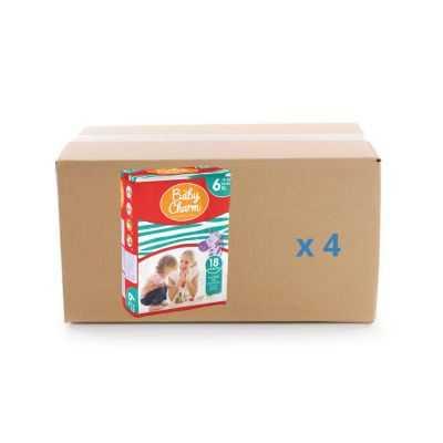 Couche Baby Charm Super Dry Pants - XL - 4x18U - Ontex