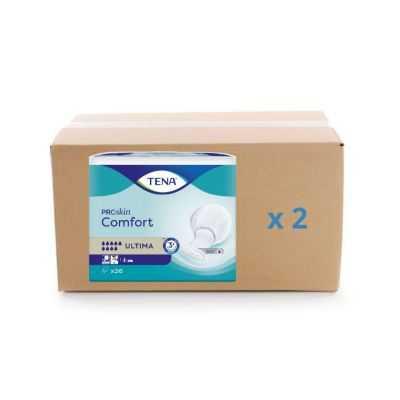 Protection anatomique Tena Confort ProSkin - Ultima - carton 2x26U - Tena