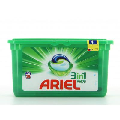 Lessive - Ariel Original - 3 in 1 PODS - 38 lavages