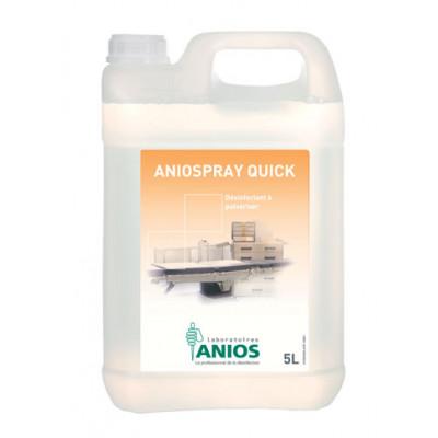 Aniospray Quick - Désinfectant à pulvériser - 5L - Anios